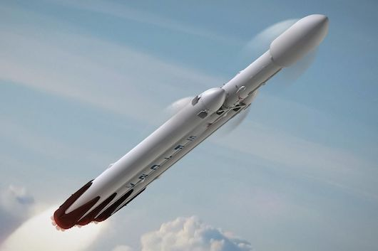 This Is Heavy - The SpaceX Falcon Heavy Stargate Event Falcon_Heavy