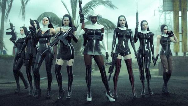 Marilyn Manson Hellgate signal Hitman-Absolution-nuns