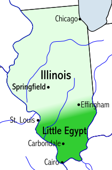 Dreaming in American Twilight LittleEgypt-map