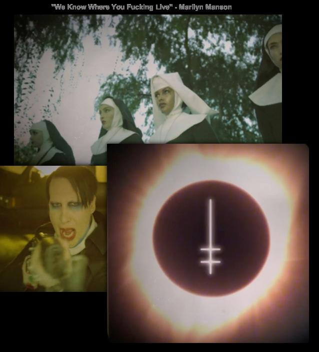 Marilyn Manson Hellgate signal MarilynManson-WeKnowWhere-vid