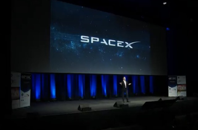This Is Heavy - The SpaceX Falcon Heavy Stargate Event Musk-IAC2017-8