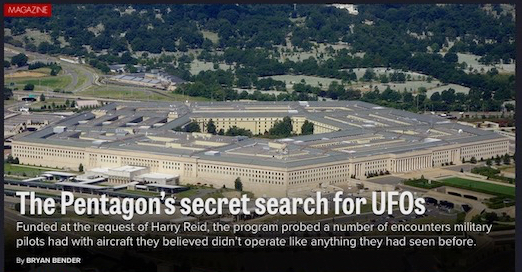 This Is Heavy - The SpaceX Falcon Heavy Stargate Event Pentagon-UFO-Politico