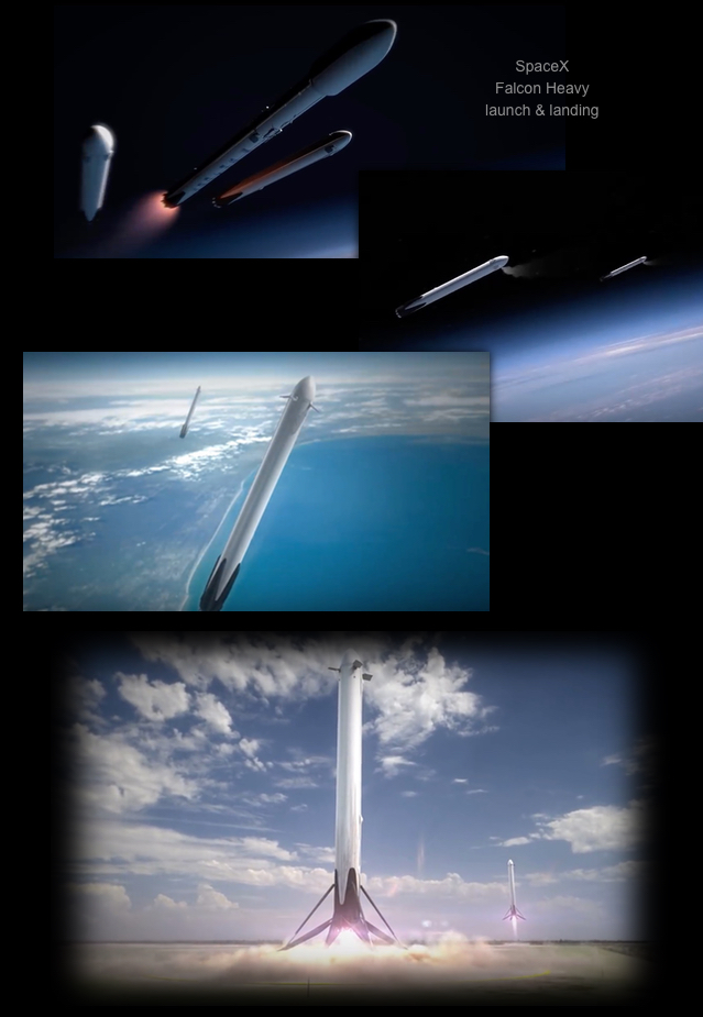 This Is Heavy - The SpaceX Falcon Heavy Stargate Event SpaceX-FalconHeavy-sim