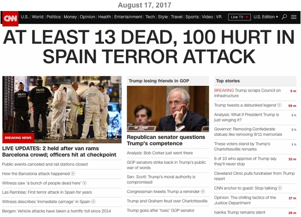 Decoding Barcelona terror attack