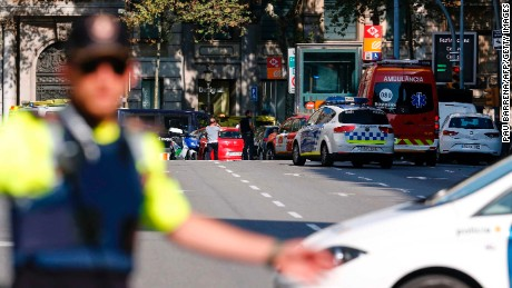 TERROR IN BARCELONA: Deadly van attack kills 13