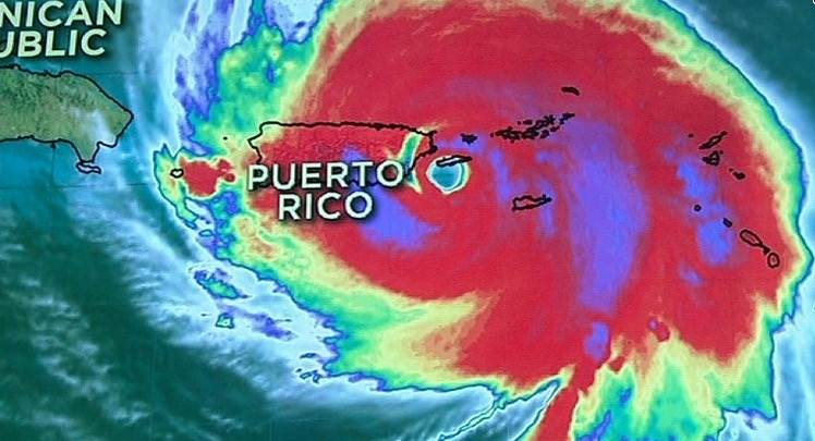 Hurricane Maria pounds Puerto Rico after killing 7 people in Dominica