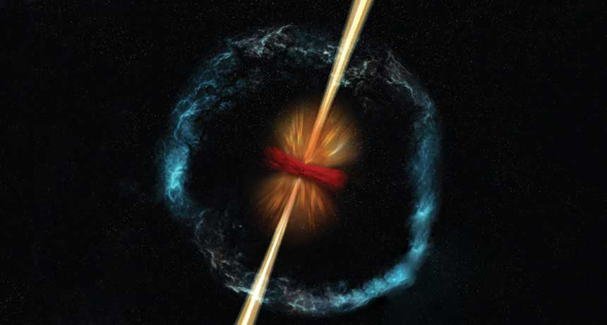 Neutron-Star Collision Reveals Origin of Gold, Astronomers Say