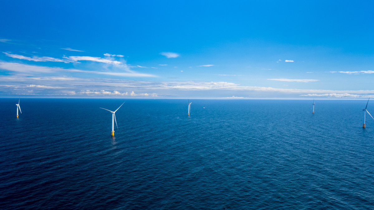 World's first floating wind farm powers up in Scotland