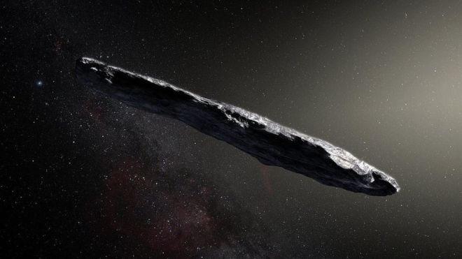 Interstellar Visitor Stays Silent: No Signs of Life Yet on Oumuamua