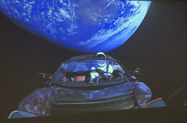 Track Elon Musk's Tesla Roadster on its Way to Mars WIth this Site