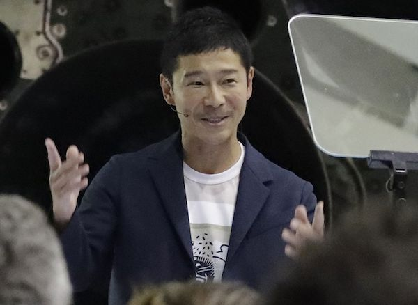 Ahead of SpaceX moon mission, Maezawa sells a $2.3 billion stake in his fashion company