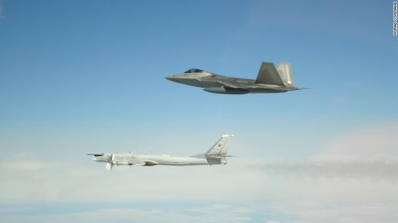 US intercepts Russian war planes off coast of Alaska