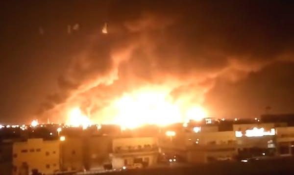 Strikes on Saudi oil facility unprecedented in scale and scope