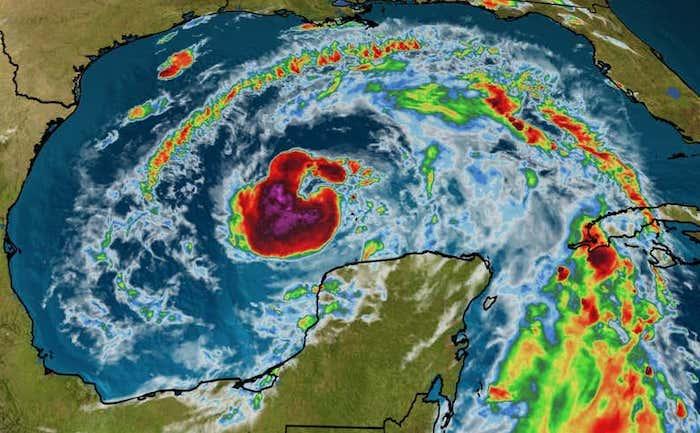 Storm Zeta to strengthen before striking Gulf Coast Wednesday