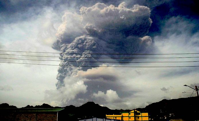 St. Vincent seeks water, funds as volcano keeps erupting