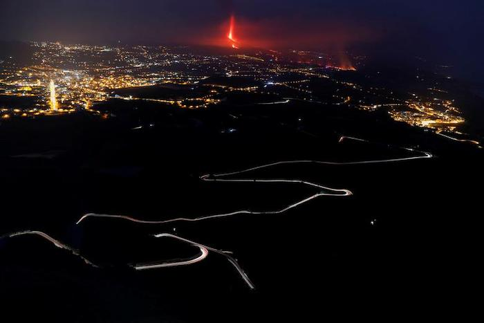 Dogs trapped by La Palma eruption 'saved by mysterious gang'