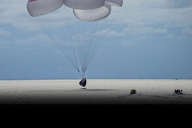 Inspiration4 amateur astronauts return to Earth after 3 days